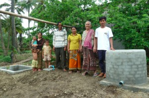 Kambodscha Biogasanlage