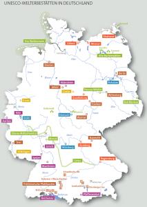 UNESCO Welterbestaetten Deutschland