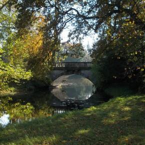 Neue Brücke im Wörlitzer Park