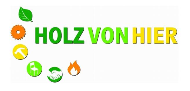Logo Holz von Hier